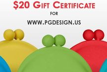 P+G Design Contests!! / Here's your chance to win some cute prizes from P+G Design!