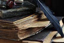 Antique Books, Paperie & Quills
