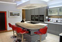 Designer Kitchen No.2 / The Hall family were so impressed with their first Kitchen Design Centre kitchen that they came back for another! The latest design: a modern gem to revamp their new home.