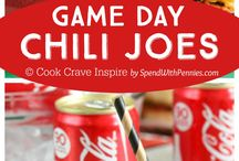 Game Day Favs / Favorite foods for game day and tailgating! / by Rhonda Rader Esposita