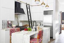 My New Home / Kitchen storage / ladder