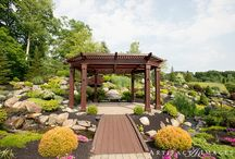 Gazebo / The Brookside Room offers an intimate on-site Gazebo that is encircled by cascading waterfalls and perfectly manicured gardens.