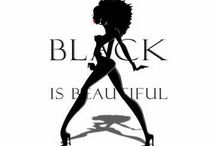 Black Is Beautiful - EBONY - Noir -