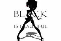 Black Is Beautiful - EBONY - Noir -