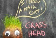 Grass man
