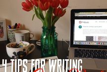 Writing Tips & Skills / Tips & tools for writers.