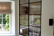 Glass walls and dividers