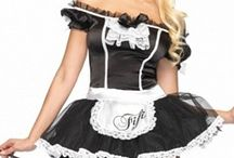 Women's Halloween Costumes at LD / Why be scary on Halloween when you can be sexy? See our entire collection of sexy Halloween costumes at: http://www.lingeriediva.com/sexy-costumes