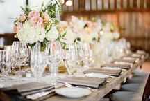 Table Settings / by Belle'Ham Wedding & Events