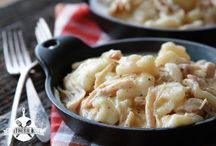 Chicken & Dumplings / by Connie Burgdorf