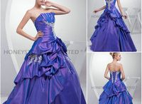 Quinceanera Dresses /  Sweet,heart,Halter,Crystal,Embroidery,Tiered,Sequined,Ruffles,Ruched,Flowers,Beading,Appliques,Off the Shoulder,Spaghetti ,Strap With, Jacket,One-Shoulder ,Ball Gown,A-Line dress for you. View More  / by Alice Smith