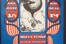 Vintage Concert Posters & Handbills / Amazing collection from classic rock and roll concerts from the 60's and 70's.  / by PosterScene.com