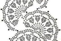 crocheted ribbon lace
