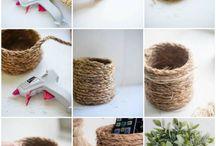Rope Basket DIY