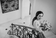 Stunning Black and White Bridal Portrait! Perfect!