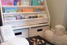 KIDS' ROOMS: Story corner inspiration / Creating a story corner for a 5 year old.