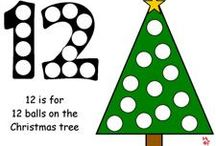 Christmas Early Learning Printables