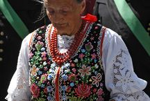 costume traditional de Cracovie / folk costume Cracow strój ludowy krakowski