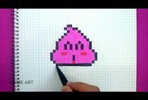 dessins pixel