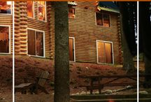 Log Home Fireplaces & Hearths / Explore log home fireplaces and hearths.
