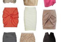 1)Юбки и шорты! / Варианты моделей юбок и шорт из различных тканей!