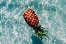Pineapple&Palm tree