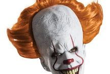 Scary Clown Masks & Costumes