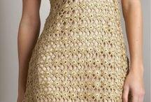 Vestidos de Crochet / by Cinthia Mabel Vera Bletter