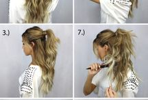 Hairstyles - Χτενίσματα / It is easy to have the perfect hairstyle.
