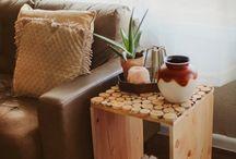 Creazioni con il legno e altri materiali / Oggetti fatti a mano