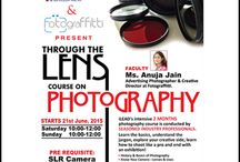 iLEAD in association presents 2 Months Intensive Course on Photography with Ms. Anuja Jain.