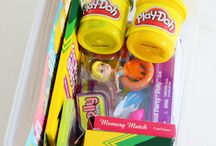 Children's fun packs / Ideas to put in 'fun packs' for children