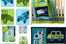 Cars Baby Nursery Transportation Kids Decor