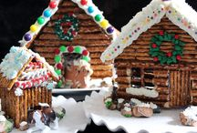 Christmas Holiday Gingerbread / Edible Gingerbread Designs