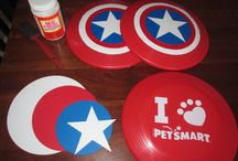 Captain America Birthday Party / by Laura De Leon