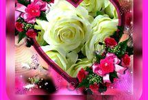 szív, rózsa, idézet