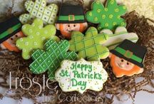 St. Patrick's day / Decorated St. Patty's Day cookies
