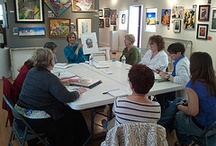 Partners in Art / An artist group that meets on selected Mondays