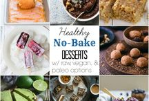 No bake healthy desserts