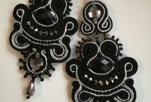 Soutache handmade jewellery / Soutache technique