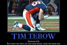 Tim Tebow / by Debbie Dixon