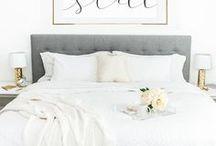White pastel home decor