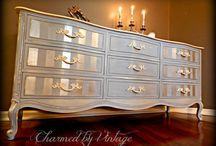 Muebles franceses pintados