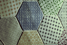MARRAKECH RANGE 15x15 / Hexagonal range, with mixed designs and a lot of colours. #CEVICA did this range for home floors and walls decoration. Is a porous clay for decoration, not allowed for restaurants or locals with high transit.