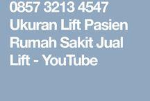 0857 3213 4547 Ukuran Lift Pasien Rumah Sakit Jual Lift