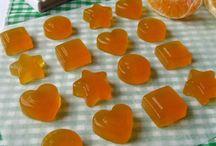 caramelle gommose all arancia