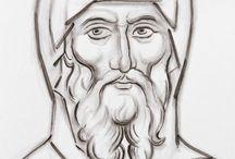 Drawing - Byzantine Icons
