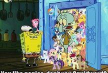 Spongebob's cool like me / Spongebob is actually pretty nice