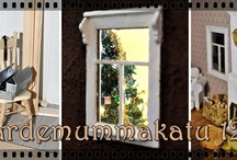 Finnish dollhouse miniature projects pinned by Johanna&You? / Dollhouses, dolls and other miniatures from Finland pinned by Finnish miniaturists