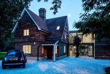 Modernes Update Auf Gemütlichen England Cottage